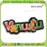 Ricordo promozionale personalizzato Vanuatu (RC- VU) dei magneti del frigorifero del PVC della decorazione dei regali