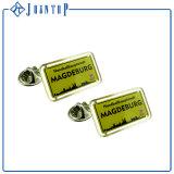 Pin Shaped d'insigne de revers de qualité de cerveau promotionnel en métal