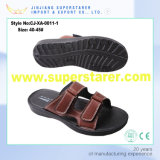2017 Novo modelo PU Upper EVA Sole Men Slipper