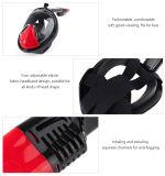 FDA asciutta di RoHS del Ce di immersione subacquea M2098g della mascherina della presa d'aria del fronte pieno di Red+Black