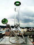In het groot 10 van de Basis van de Beker van de Percolator van de Kleurrijke van de Kom Duim Waterpijp van het Glas Rokende
