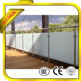 Murs en verre extérieurs de glissement pour la pêche à la traîne, balcon, frontière de sécurité de syndicat de prix ferme
