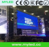 Alta calidad al aire libre de interior LED publicitario a todo color Display/LED de P3 P4 P5 P6 P7.62 P8 P10 P16 P20 HD Ali