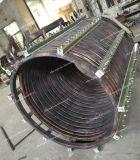 Projeto da serpentina de aquecimento de indução da fornalha de derretimento