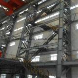 Edificio ligero prefabricado de la estructura de acero con alta altura