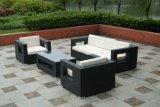 Il sofà del rattan del PE/sofà di vimini moderno/sofà di vimini esterno hanno impostato (SC-B8218)