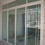 Schuifdeur van het Frame van het Profiel UPVC van de Glasvezel van de Prijs van de fabriek de Goedkope Plastic met binnen Grill