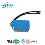 18650 batería de ion de litio recargable de 12V 6ah para la herramienta eléctrica