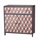 Governo di legno del portello del cassetto due di stile uno dell'annata per il salone