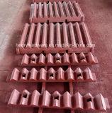 Verschiedene hohe Mangan-Stahlgußteile