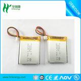Célula de batería del ion 3.8V 3.7V 850mAh Lipo del litio