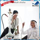 Tubos de cristal de la fábrica profesional Bw1-055 y cachimba de cristal de Shisha