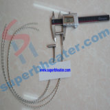 Chaufferette inoxidable de cartouche avec le thermocouple pour la machine de moulage par injection