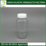 卸し売り150ml白いカラーペットプラスチック丸薬容器