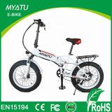 Сало велосипеда электрической педали 20 дюймов ассистентское с спрятанной батареей