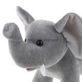 Éléphant de jouet bourré par animal mol de peluche de vente en gros du certificat SA8000