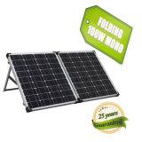 Watt solare portatile personalizzato 120W del modulo 100 di PV del sistema del comitato solare che piega comitato solare