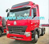 336HP HOWO A7中国のブランドのトラクターのトラック