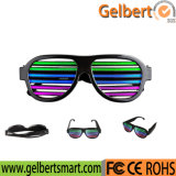Magic Glow Party Glasses Sound Active Light up Clignotant LED Glasses