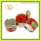 Pasta de tomate enlatada Puré de tomate Vegetal
