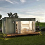 Casa prefabricada del envase, diseño interior de la casa del envase