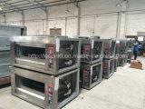 Оборудование хлебопекарни печи газа подносов палубы 4 Commerical двойное