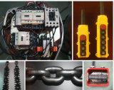 Kixio alzamiento de cadena eléctrico de la sola velocidad de 2 toneladas con la carretilla
