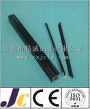 Perfil de alumínio anodizado preto da extrusão (JC-P-83024)