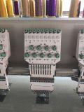 Máquina lisa do bordado de 20 cores da cabeça 9
