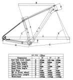 Novo 29 / 27.5er Carbon MTB Bike Frame