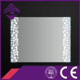 Jnh245浴室Beauitfulパターンが付いているAnti-Fog LEDセンサーミラー