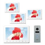 7 pouces de Doorphone de garantie à la maison d'interphone d'intercom visuel de sonnette