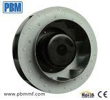 250 milímetros Ec-DC liga de alumínio ventilador centrífugo