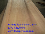 0.3mm Veneer de Okoume Keruing Bintangor Birch Face Veneers
