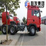 Sinotruk HOWO T7h 390pH 6X4のトラクターのトラックのトラクターヘッド