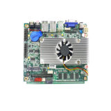 Graphic Integrated Fanless Mainboard com 2 RJ45 Port