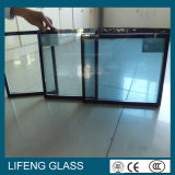 Baixo-e vidro de isolamento energy-saving revestido para a parede de cortina do edifício