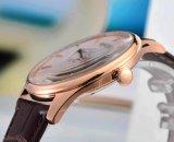 Negócio ou relógio de pulso saboroso dos homens concisos ocasionais do estilo