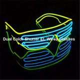 Le double colore des nuances d'obturateur de fils d'EL