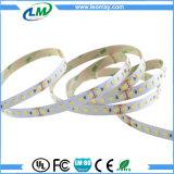 striscia flessibile bianca dell'indicatore luminoso 2835 CRI80 90+ LED dello specchio di 110-120LM/W 12V/24V con CE RoHS