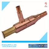 Цвет никеля клапана уменьшения воды соединения NPT латунный