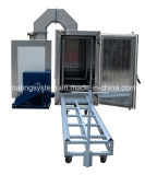 Elektrostatische Gas-Puder-Beschichtung, die Ofen aushärtet