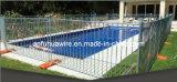 Cerca provisória da piscina para a venda