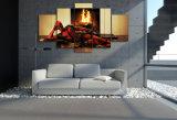 HD ha stampato il carattere di Deadpool che modella la pittura sulla tela di canapa Mc-063 della maschera del manifesto della stampa della decorazione della stanza della tela di canapa