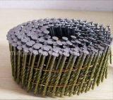 Clavos de la bobina del tornillo