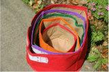 Seeding войлока сада Onlylife домашний кладет цветастого напольного вертикального зеленого плантатора в мешки ткани материала упаковки цветка сада