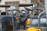 Rodillo de camino vibratorio del tambor doble hidráulico lleno de 6 toneladas (JM806H)