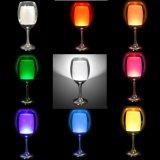 2017 fabricante romántico de la nueva de la llegada LED de la taza luz atractiva de la noche para la decoración de interior