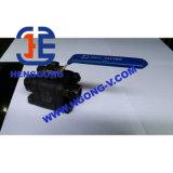 Valvola a sfera forgiata filetto ad alta pressione di galleggiamento della maniglia di API/DIN
