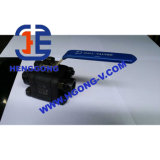 Vávula de bola de acero forjada de alta presión de la cuerda de rosca de API/DIN